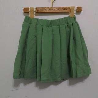 極美蒂芬妮綠褲裙