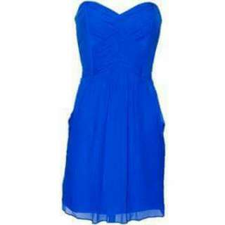 Cobolt Blue Cocktail Dress RRP $189