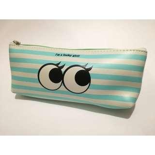 Cute Striped Speech Bubble Pouch Bag