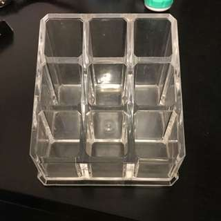 Acrylic Clear Lipstick Holder