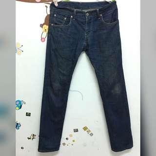Levi's 511 W30L32  (00511-1267) 藍色 彈性 直筒牛仔褲