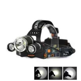 Boruit 6000lumen Headlamp