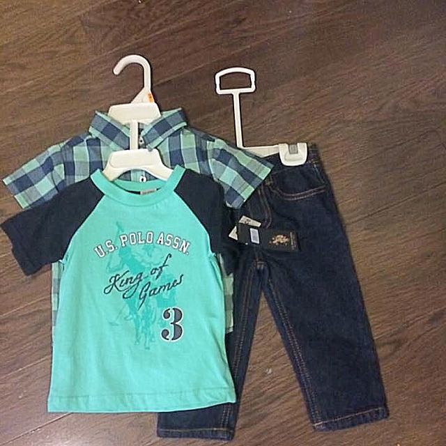 3 Piece Outfit - Sz 12 Months