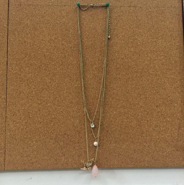 3-in-1 Necklace (Bird)