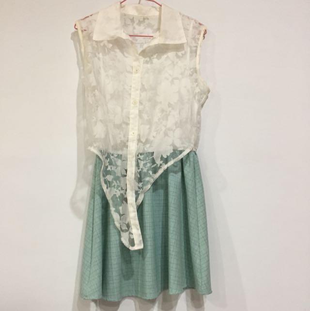 (全新)波希米亞風洋裝