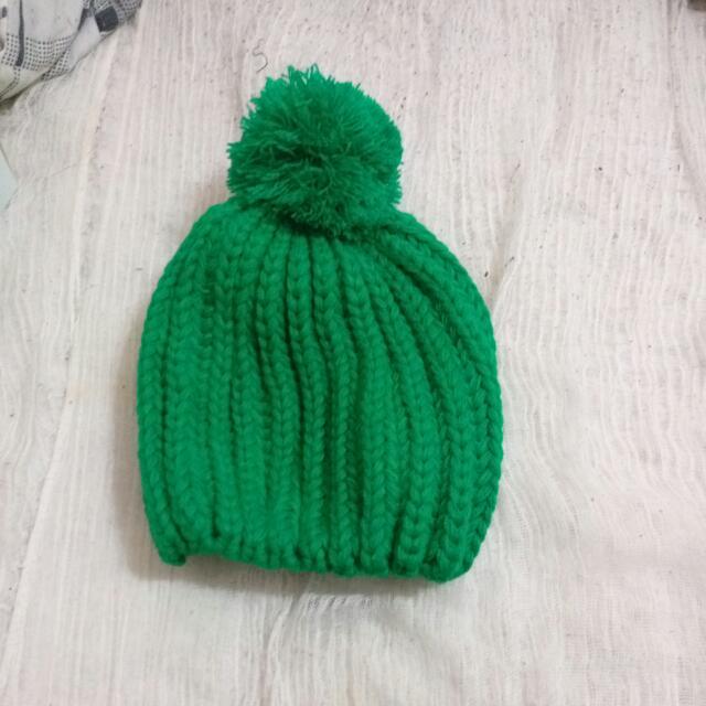 毛帽就是要在冬天亮眼