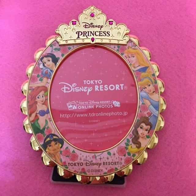 金屬 相框 迪士尼公主 公主系列 白雪公主 灰姑娘  仙度瑞拉 睡美人 小美人魚 美人魚 貝兒 茉莉 阿拉丁
