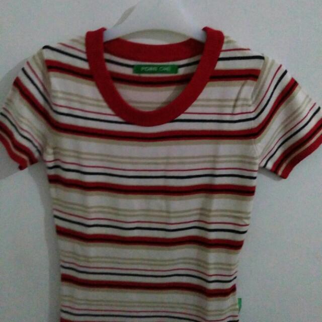 👕 Strips T-shirt merk Point One