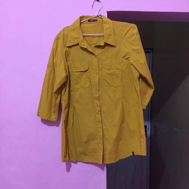 AKO ~ Kemeja Kuning Ukuran XXL ( Nego )