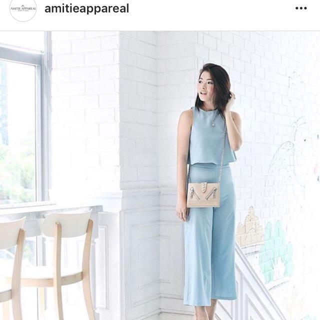 AmitieAppareal Chloe Set Blue
