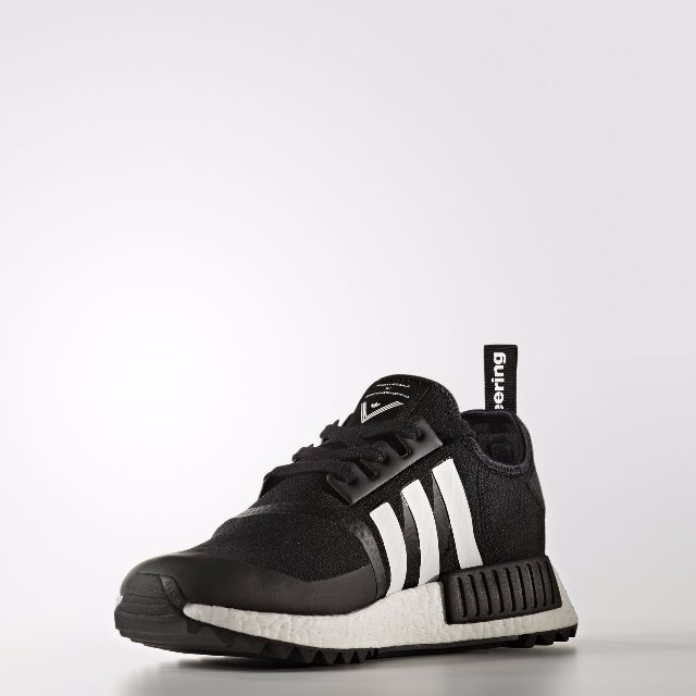 54127fe9e0c4 Authentic Adidas WHITE MOUNTAINEERING NMD TRAIL SHOES (Core Black ...
