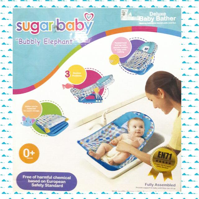 Baby Bather Sugar Baby - blue