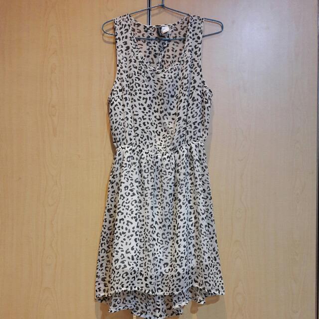 Backless Dress H&M