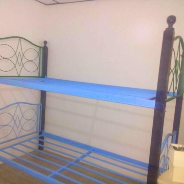Bed Bunk DOUBLE Bed With Mattress