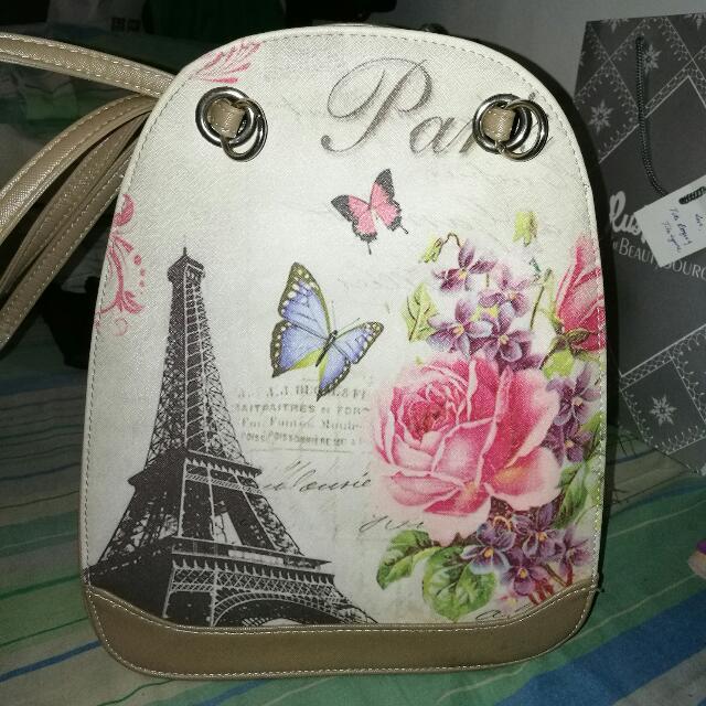 Belladonna Two Way Bag (Shoulder Bag Or Back Pack)