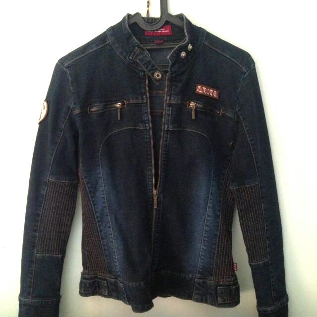 Bikers Jacket / Denim Jacket By AKO Jeans