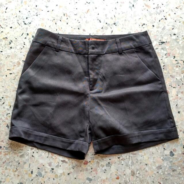 BUY 2 GET 1 FREE Black High Waist Shorts
