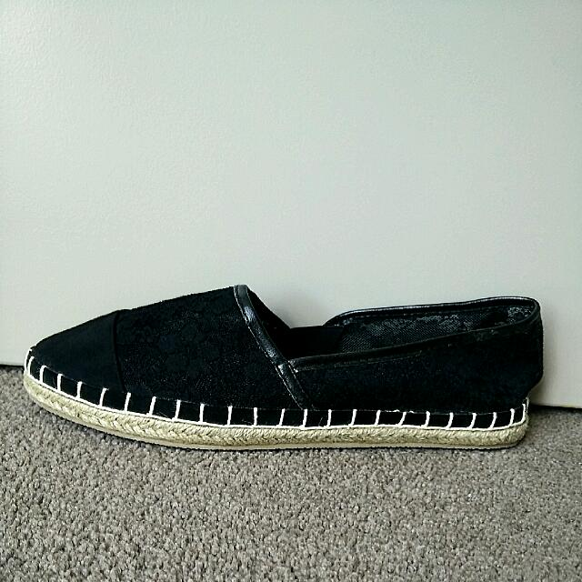 NEW Lace Espadrille (Size 9)
