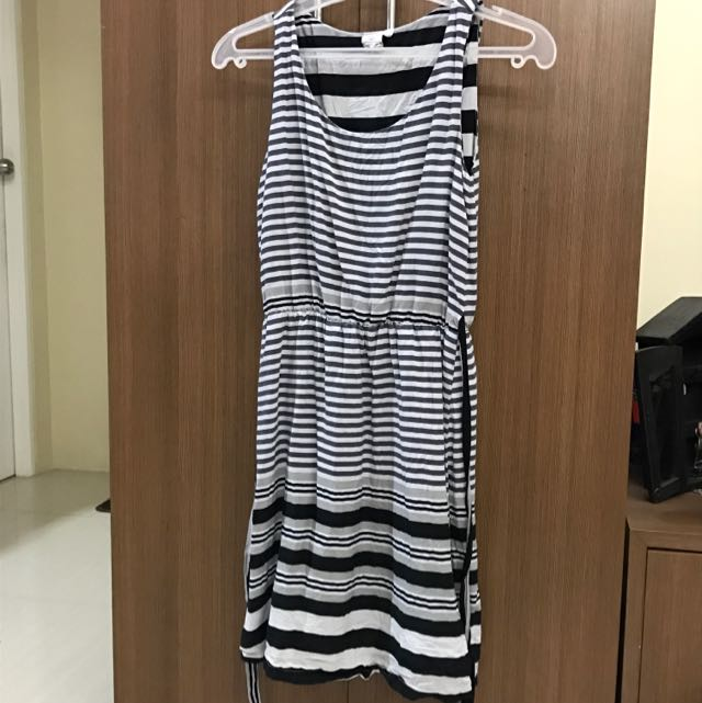 Black stripes dress - repriced!