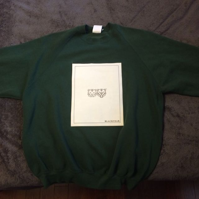 BLACKYEAR™ Crewneck Sweater (navy Green)