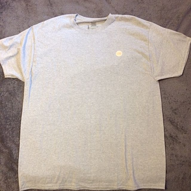 BLACKYEAR™ Grey T-shirt With Back Logo