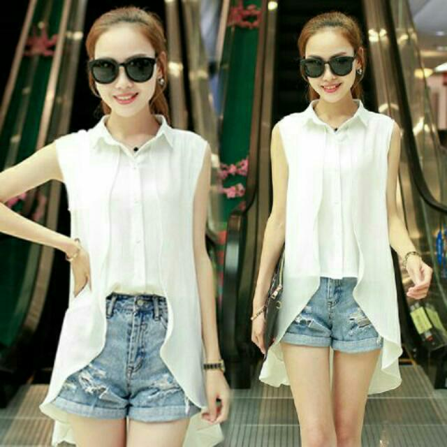 Blouse White 020
