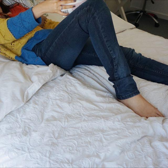 Blue Classic Skinny Jeans