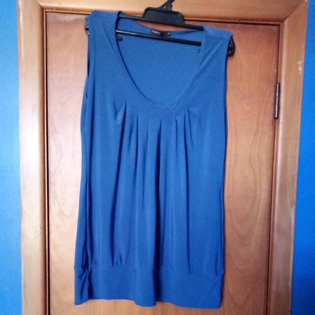 Blue pagini dress