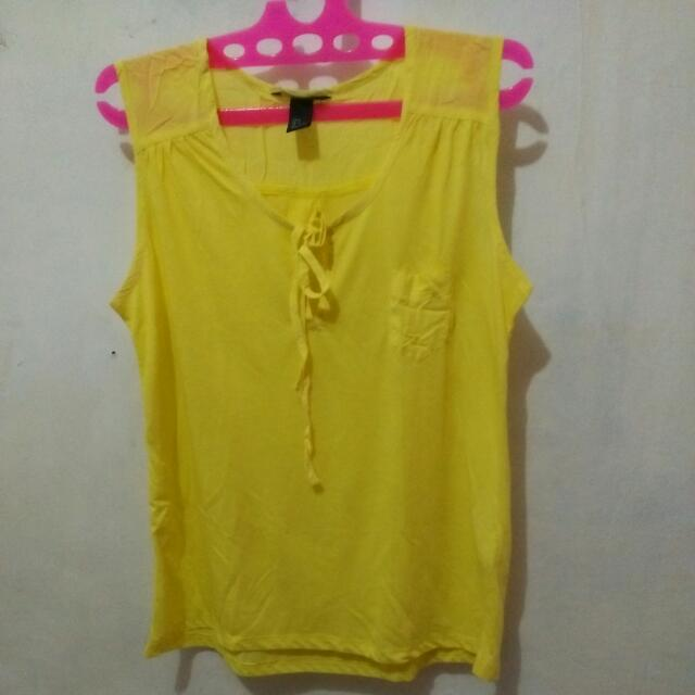 Bluse Yellow H&M