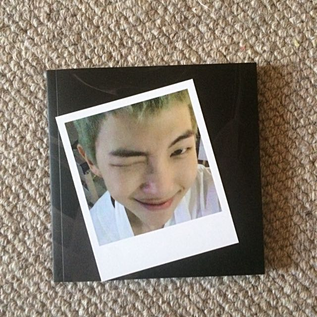 BTS Rap Monster Wings Album + Photocard