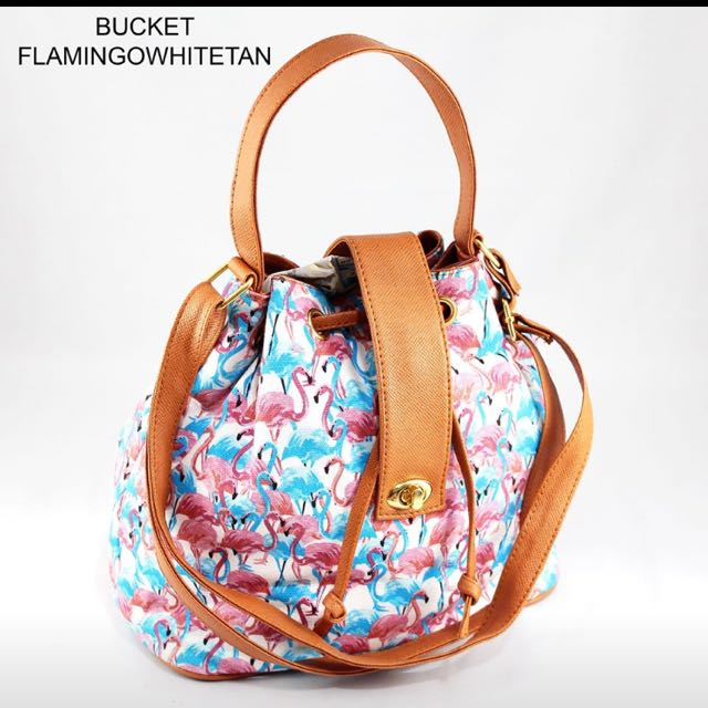 Bucket Sling Bag (flamingo)