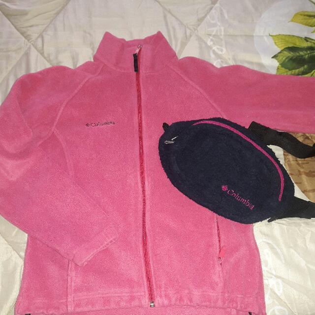 COLUMBIA Bundle Promo!!! jacket & Beltbag