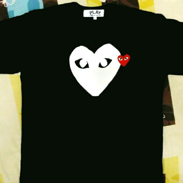 CDG Black T-SHIRT (Authentic)
