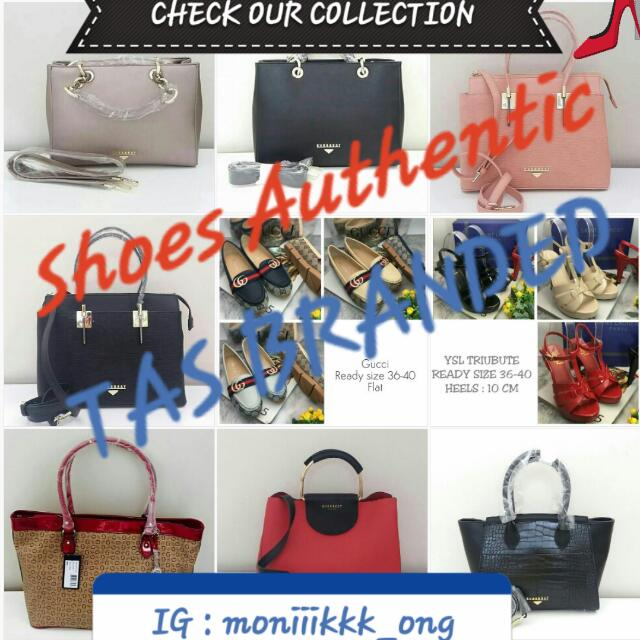 CHECK OUR COLLECTION SHOES AUTHENTIC & TAS BRANDED