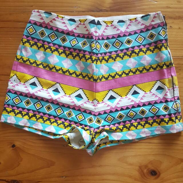 Colourful Hotpants