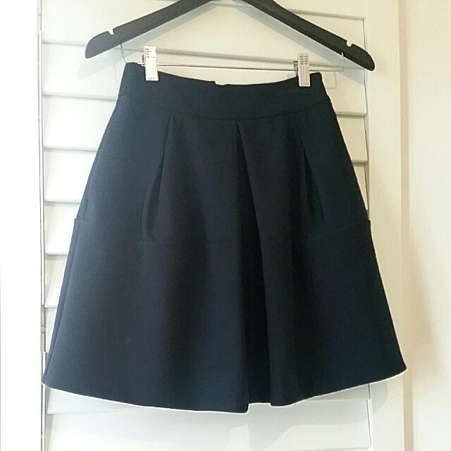 Cue Skirt - Neoprin Sz 6