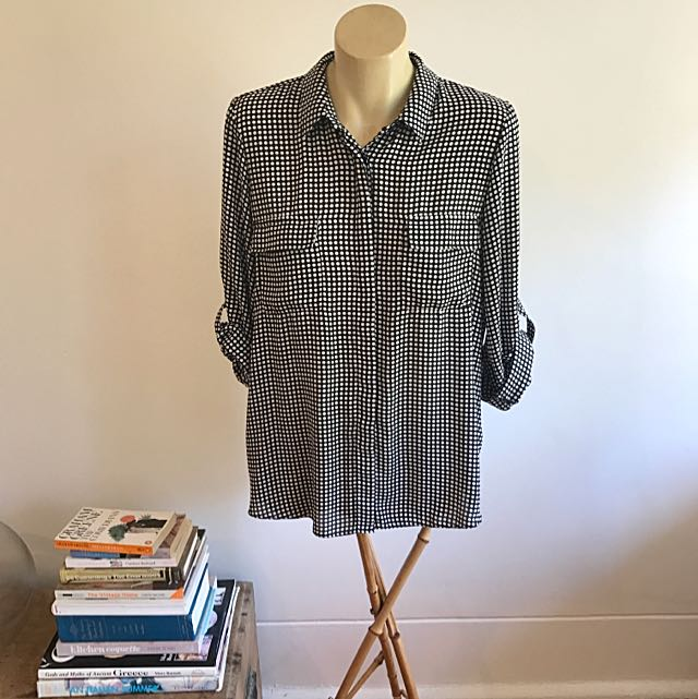 Dorothy Perkins Polka Dot Shirt