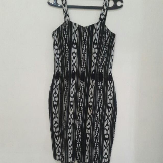 Dress Batik Ikat