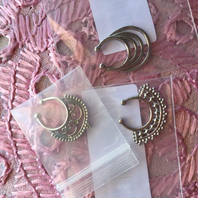 Fake Septum Jewellery
