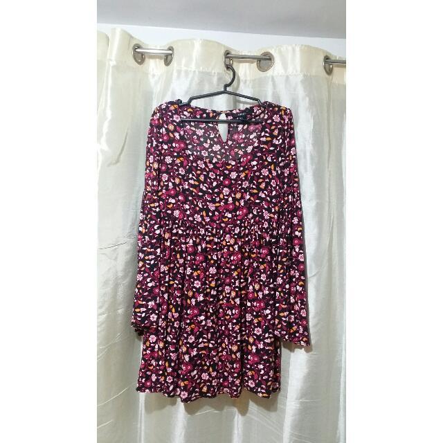 Forever21 Floral Bohemian Dress