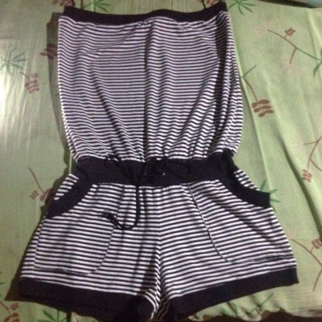 Genevieve Gozum Stripe Jumpshort Tube