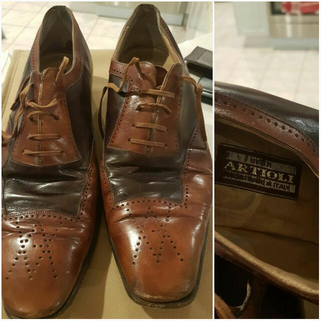 Genuine Artioli Mens Shoes