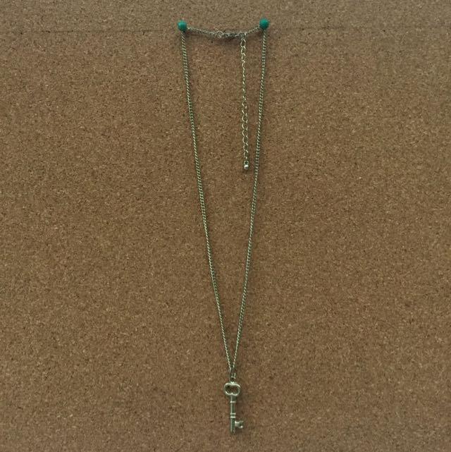 Gold Key Necklace