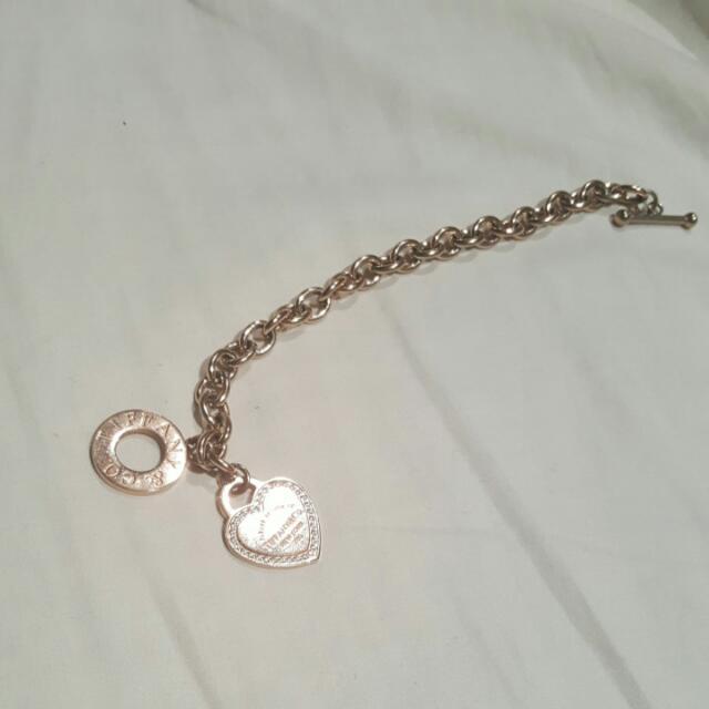 Gold Tiffany & Co bracelet
