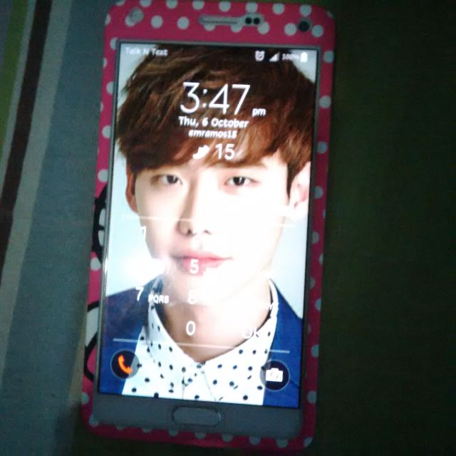 Hello Kitty Note 4 360 degree Case