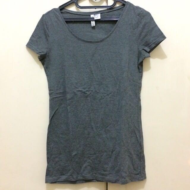 H&m Grey Shirt