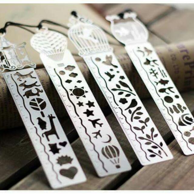 [INCOMING STOCK] Beautiful Metal Bookmarks