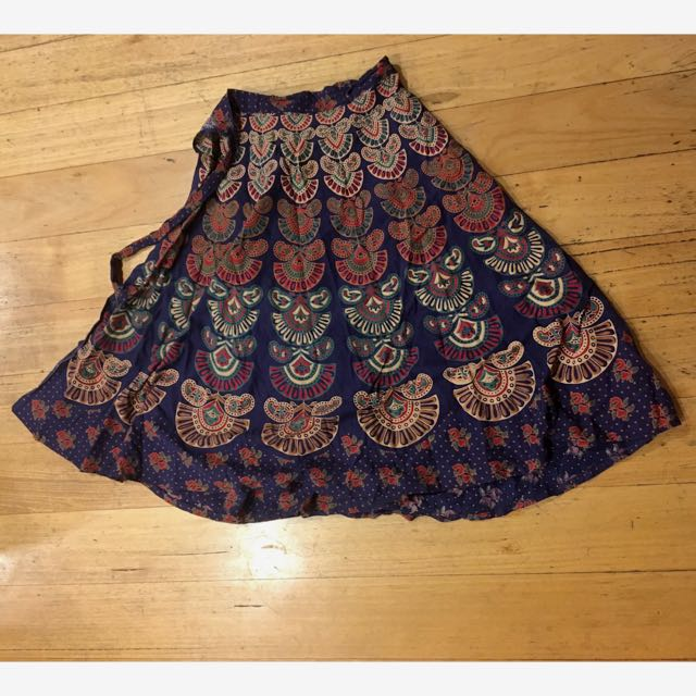 Wrap Skirt From India
