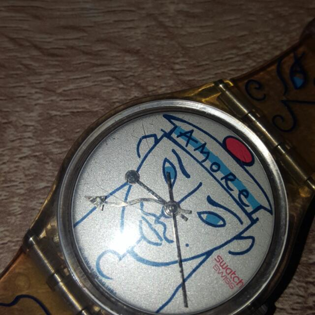 Jam Tangan SWATCH ORI Limited Edition