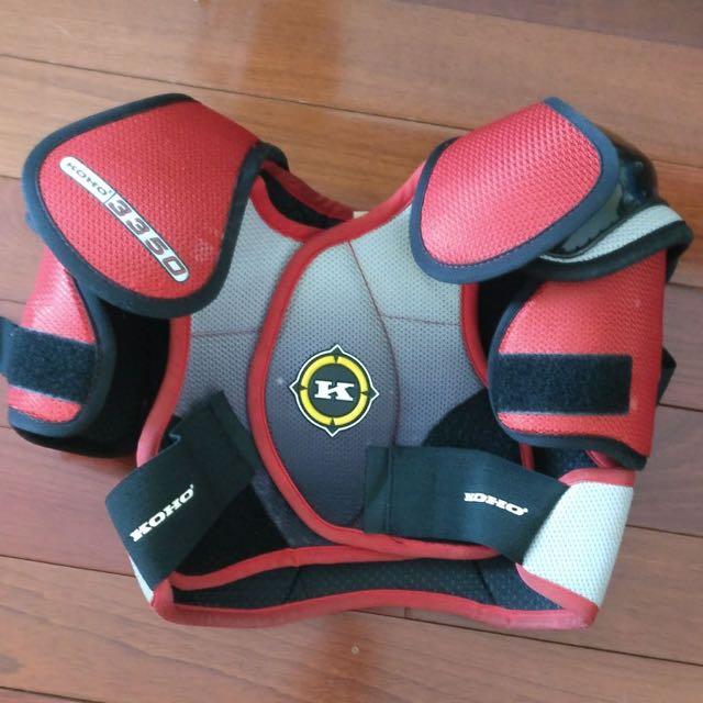 Jr Size 3 Chest Plate & Shoulder Pads